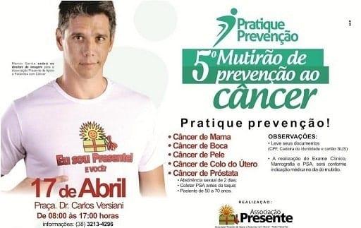 Montes Claros - Mutirão de Prevenção ao Câncer acontecerá nesta sexta-feira