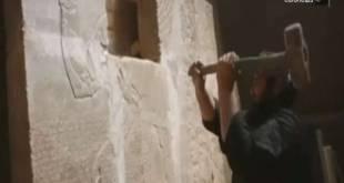 """Unesco chegou a chamar a ação de """"crime de guerra"""" e fez um apelo para as autoridades da região impedirem a """"barbárie"""""""