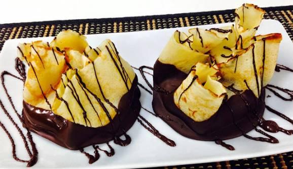 Gastronomia - Receita de rouxinhas Delícias com recheio de coco, chocolate e doce de leite