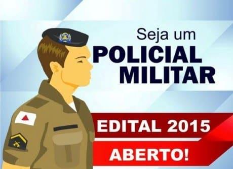 Concurso - Polícia Militar de Minas Gerais abre concurso com 1.410 vagas