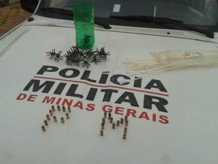 Norte de Minas - Cinco pessoas são presas em Padre Carvalho por envolvimento com explosões a caixas eletrônicos - Credito: Julio Cesar