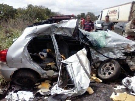 Brasil é o quinto país no mundo em mortes por acidentes no trânsito