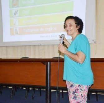 A coordenadora dos estudos Ester Cerdeira Sabino da USP