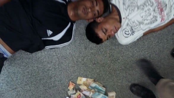 Montes Claros - Presos assaltam lotérica no bairro no bairro Roxo Verde