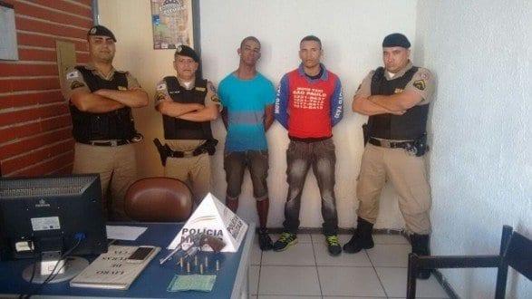 Sgto Renê, Cabo Rocha e Soldado Alexandre