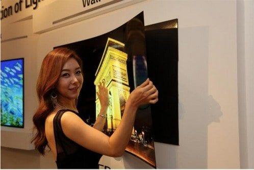 LG apresenta TV com menos de 1 Milímetro de espessura