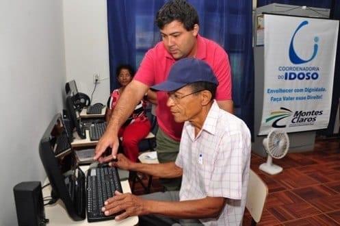 Montes Claros - Aula inaugural para o curso de informática para idosos será dia 15