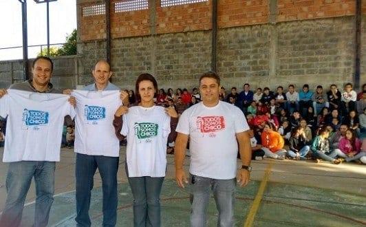 Palestra sobre a campanha em escola Estadual de Lagoa da Prata-por-Ricardo-Oliveira