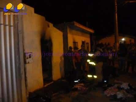 Norte de Minas - Criança de 01 ano e 05 meses morre carbonizada em incêndio em Patis