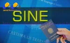 Vagas de emprego oferecidas pelo Sine de Montes Claros – 24/06/2015