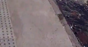 Vídeo - Desperdício de água na rua Padre Vieira, Bairro São Judas em Montes Claros