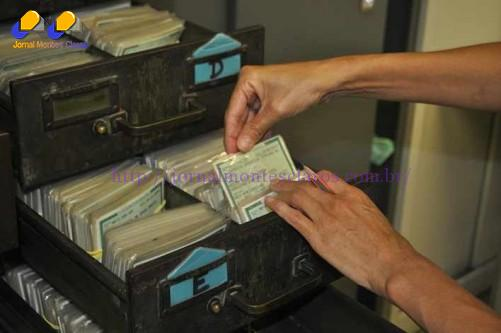 As carteiras ficam arquivadas por cinco anos