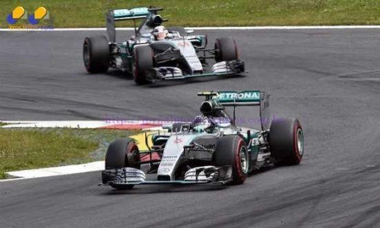 F1 - Rosberg vence o GP da Áustria e Massa vai ao pódio