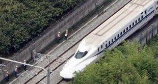Ásia - Dois mortos em incêndio em trem de alta velocidade japonês