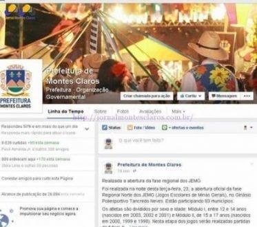 Montes Claros - Prefeitura de Montes Claros utiliza redes sociais para maior interação com a população
