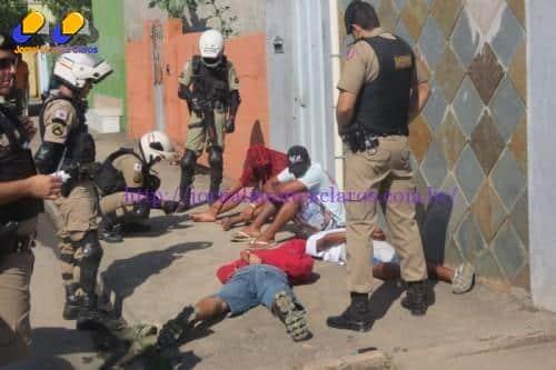 Montes Claros - Polícia Militar realiza operação 240 anos em Montes Claros e região