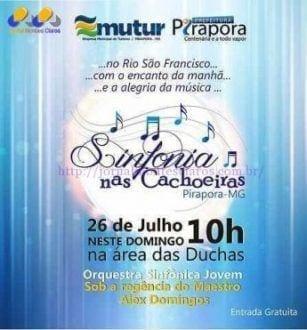 Norte de Minas - Sinfonia nas Cachoeiras começa neste domingo