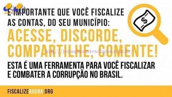 Montes Claros - Portal de avaliação de gastos públicos reforça combate à corrupção