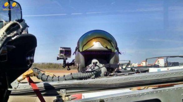 Montes Claros - Esquadrão de Cometa da Força Aérea Brasileira, passa em Montes Claros