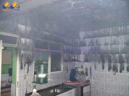 Montes Claros - Incêndio em residência deixa uma vítima ferida no bairro Jardim Palmeiras