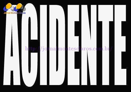 Montes Claros - Acidente entre dois caminhões deixa um motorista ferido e