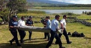 Fragmento, de quase dois metros de comprimento e semelhante a um pedaço de asa, foi encontrado na quarta-feira (29) na costa da Ilha da Reunião
