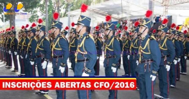 Concursos - Estão abertas as inscrições para o concurso do CFO/ 2016
