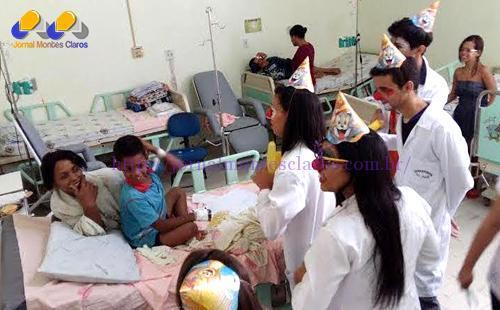 """Montes Claros - Hospital Universitário recebe novamente o projeto """"Alegria & Cia - Doutores do Riso"""""""