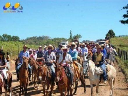 Montes Claros - 1ª Cavalgada da Comunidade de Santa Bárbara será neste sábado
