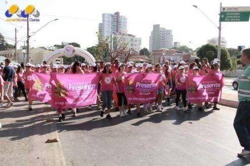 Montes Claros - Associação Presente realiza no dia 25 de outubro Corrida e Caminhada do Outubro Rosa