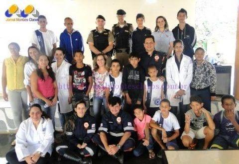 Estudantes do bairro Cristo Rei recebem ação socioeducativa