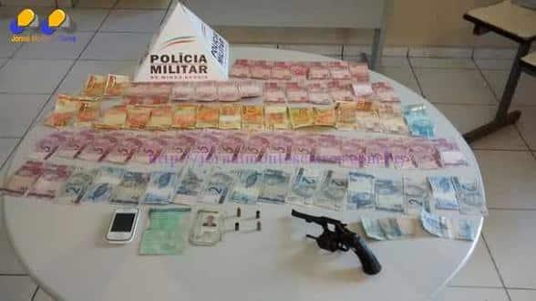 Norte de Minas - PM de folga prende dois suspeitos de assalto a casa lotérica em Itacarambi