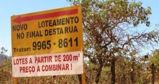 Montes Claros - Loteamento irregular encontrado no São Geraldo II é multado pelo Codema