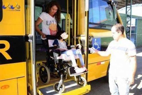 Montes Claros - Motoristas e monitores são treinados para  o transporte adequado de alunos especiais