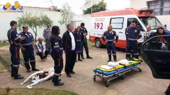 Norte de Minas - Samu realiza curso de urgência e emergência na microrregião Janaúba