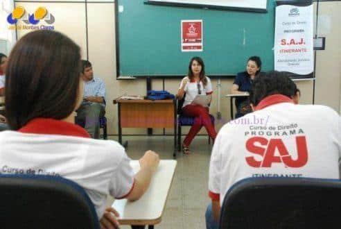 Montes Claros - SAJ Itinerante realiza atendimento no Dia V e reforça combate à violência contra a mulher