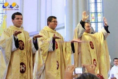 Montes Claros - Arquidiocese de Montes Claros ganha três novos Padres