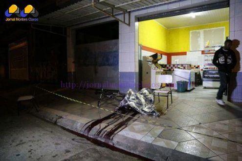 Vítima da série de ataques em Osasco e Barueri (Foto: Edison Temoteo/Futura Press/Estadão Conteúdo)