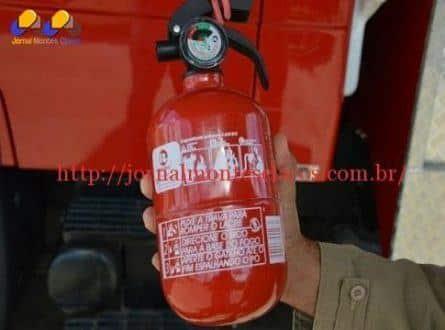 Contran recua e extintor de incêndio tipo A,B,C, deixa de ser obrigatório