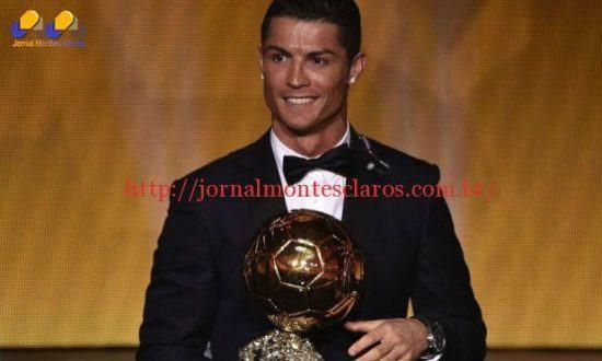 Grande vencedor da última edição do prêmio Bola de Ouro foi o português Cristiano Ronaldo