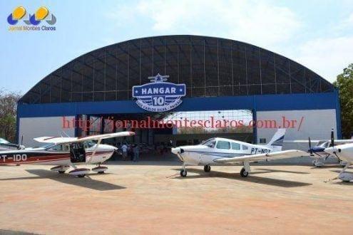 Montes Claros - Aeroporto de Montes Claros ganha mais espaço para a guarda de aeronaves