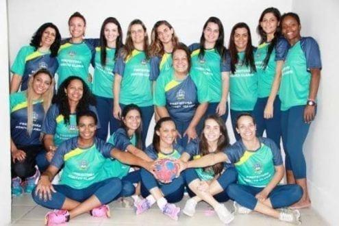Handebol Feminino de Montes Claros reforça treino em busca do bi consecutivo e nonagésima edição do Minas Olímpica