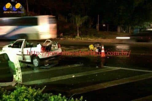 MG - Motorista invade contramão e três morrem