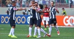 Com uma goleada de 4 a 1, o Atlético derrotou o Flamengo no Independência