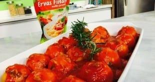 Gastronomia - Receita de Nhoque de jerimum recheado com molho de tomate