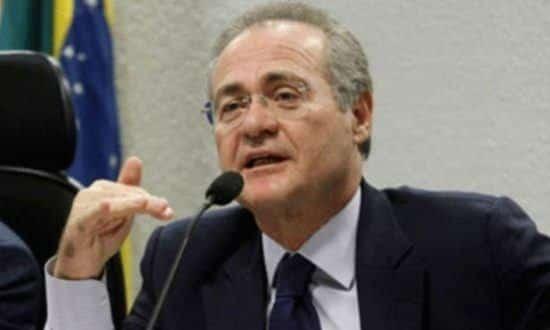 """""""Isso estava sendo processado e hoje eu darei o despacho definitivo"""", diz Renan Calheiros"""