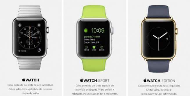 Apple Watch começa a ser vendido no Brasil nesta sexta-feira