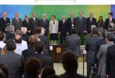 Presidente Dilma Rousseff dá posse a novos ministros