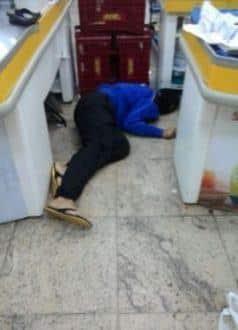 MG - Suspeito de assalto a supermercado é morto por militar à paisana