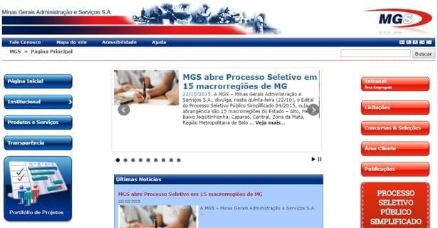 Concursos - MGS abre Processo Seletivo em 15 macrorregiões de Minas Gerais